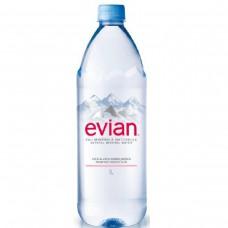 Evian Águas Especiais Mineral Sem Gás 1l