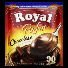 Pudim Sabor Chocolate Royal 50g