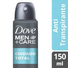 Desodorante Antitranspirante Aerosol Dove Men Cuidado Total 150ml