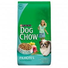 Ração Nestlé Purina Dog Chow Para Cães Filhotes Raças Pequenas Sabor Carne E Vegetais 1kg