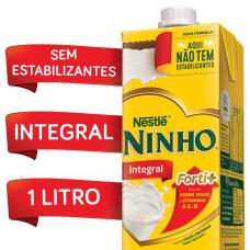 Leite Longa Vida Integral Ninho NestlÉ 1 Litro