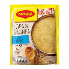 Sopa De Galinha Com Arroz Maggi Pacote 70g