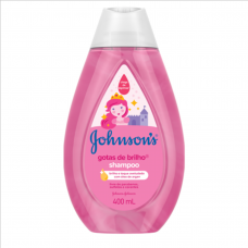 Shampoo Infantil Johnson´s Baby Gotas De Brilho 400ml