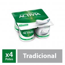 Iogurte Probióticos Activia Original 400g
