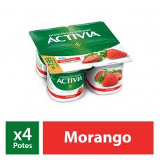 Iogurte Com Polpa De Morango Activia  400g