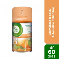 Odorizador de Ambiente Automático Citrus Freshmatic Bom Ar Frasco 250ml Refil