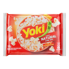 Yoki Popcorn Micro Com Sal 100g