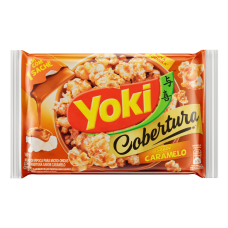 Yoki Popcorn Micro Cobertura Caramelo 160g