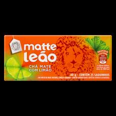 Chá Matte LeÃo Com Limão Caixa 40g Com 25 Saquinhos