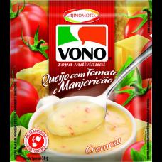 Sopa De Queijo Com Tomate E Manjericão Vono 16g