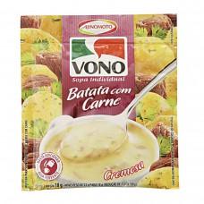 Sopa De Batata Com Carne Vono Pacote 18g