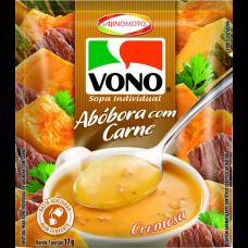 Sopa De Abóbora Com Carne Vono Pacote 17g
