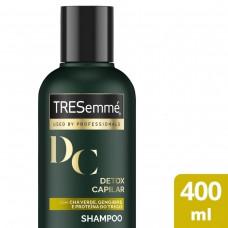 Shampoo Tresemmé Detox Capilar Para Limpeza E Nutrição 400ml