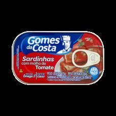 Sardinha Ao Molho De Tomate Gomes Da Costa Lata 125g
