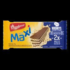 Biscoito Wafer Recheio Chocolate Branco Com Confeitos De Chocolate Bauducco Maxi Pacote 117g
