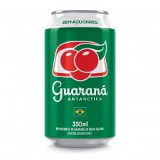 Guarana Antarctica Zero Lata 350ml