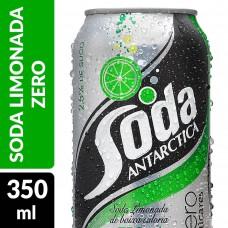 Refrigerante Antarctica Zero Soda Limão Lata 350ml