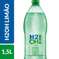 Refrigerante De Limão De Baixa Caloria H2oh! Garrafa 1,5 Litros