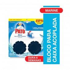 Desodorizador De Sanitário Pato Caixa Acoplada Marine Com 2 Unidades De 40g Cada