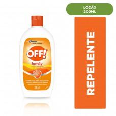Repelente Loção Hidratante Off! 200ml