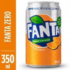 Refrigerante Fanta Light Laranja Lata 350ml