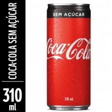 Coca-cola Sem Açúcar Lata 310ml