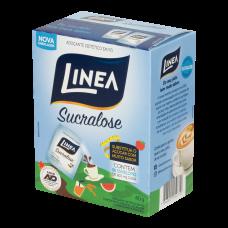 Adoçante De Sucralose Linea 40g Caixa Com 50 Envelopes De 800mg