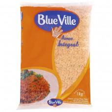 Arroz Integral Tipo 1 Blue Ville Pacote 1kg