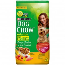 Ração Nestlé Purina Dog Chow Adultos De Raças Pequenas Sabor Carne E Vegetais 1kg