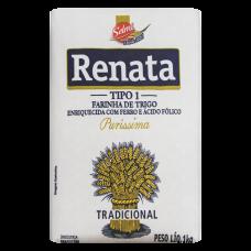 Farinha De Trigo Tradicional Renata Pacote 1kg