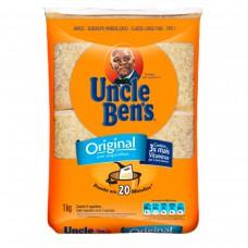 Arroz Parboilizado Tipo 1 Original Uncle Ben's Pacote 1kg Com 8 Saquinhos