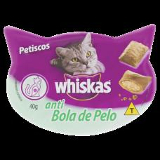 Petiscos Para Gatos Anti Bola De Pelo Whiskas 40g