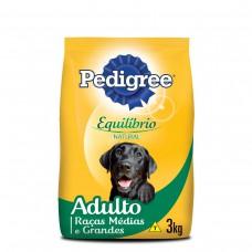 Ração Pedigree Equilíbrio Natural Para Cães Adultos Raças Médias E Grandes 3kg