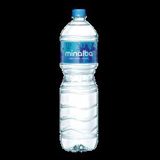 Água Mineral Sem Gás Minalba Garrafa 1,5 Litros