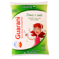 Açúcar Refinado Guarani Pacote 1kg