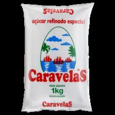 Açucar Refinado Caravelas 1kg