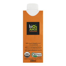 Suco Orgânico Tangerina Bio2 Juice Caixa 330ml
