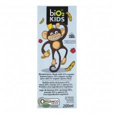 Suco Orgânico Bio2 Sabor Banana Kids 200ml