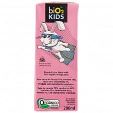 Suco Orgânico Bio2 Sabor Misto Kids 200ml