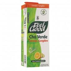 Chá Verde Sabor Laranja Com Gengibre Feel Good 1 Litro
