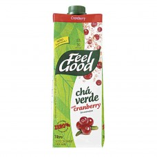 Chá Verde Sabor Cranberry  Feel Good 1 Litro