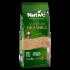 Açúcar Orgânico Demerara Native Pacote 1kg