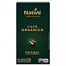 Café Orgânico Torrado E Moído Native Caixa 250g