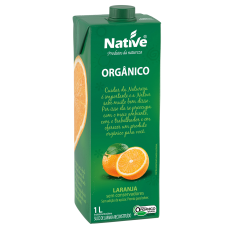 Suco Orgânico De Laranja Native 1 Litro
