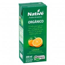 Suco Orgânico Native Sabor Laranja 200ml