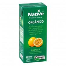 Suco Orgânico Native Sabor Tropical De Maracujá 200ml