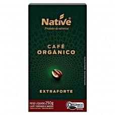 Café Orgânico Torrado E Moído Extra Forte Native Caixa 250g