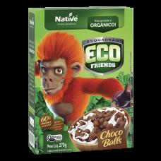 Cereal Matinal Orgânico Choco Balls Eco Friends Native Caixa 270g