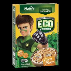 Cereal Matinal Orgânico Corn Flakes Eco Friends Native Caixa 300g