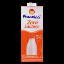 Leite Semi Desnatado Zero De Lactose Piracanjuba 1 Litro